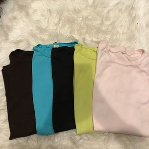 Collection of J Crew long sleeve cotton shirts